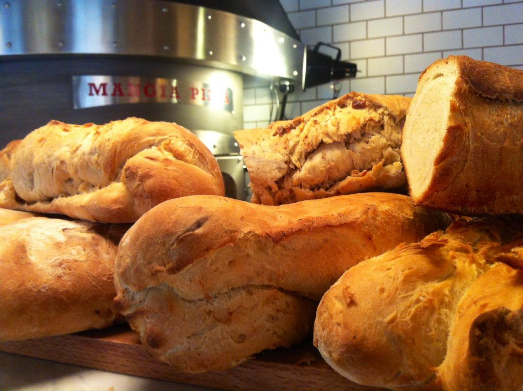 Naturally, risen breads. After you eat this, you will snub sliced bread forever.