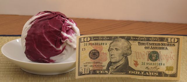radicchio in america expensive