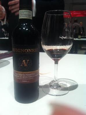avignonesi vino santo montepulicano
