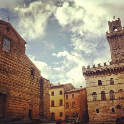 montepulciano town