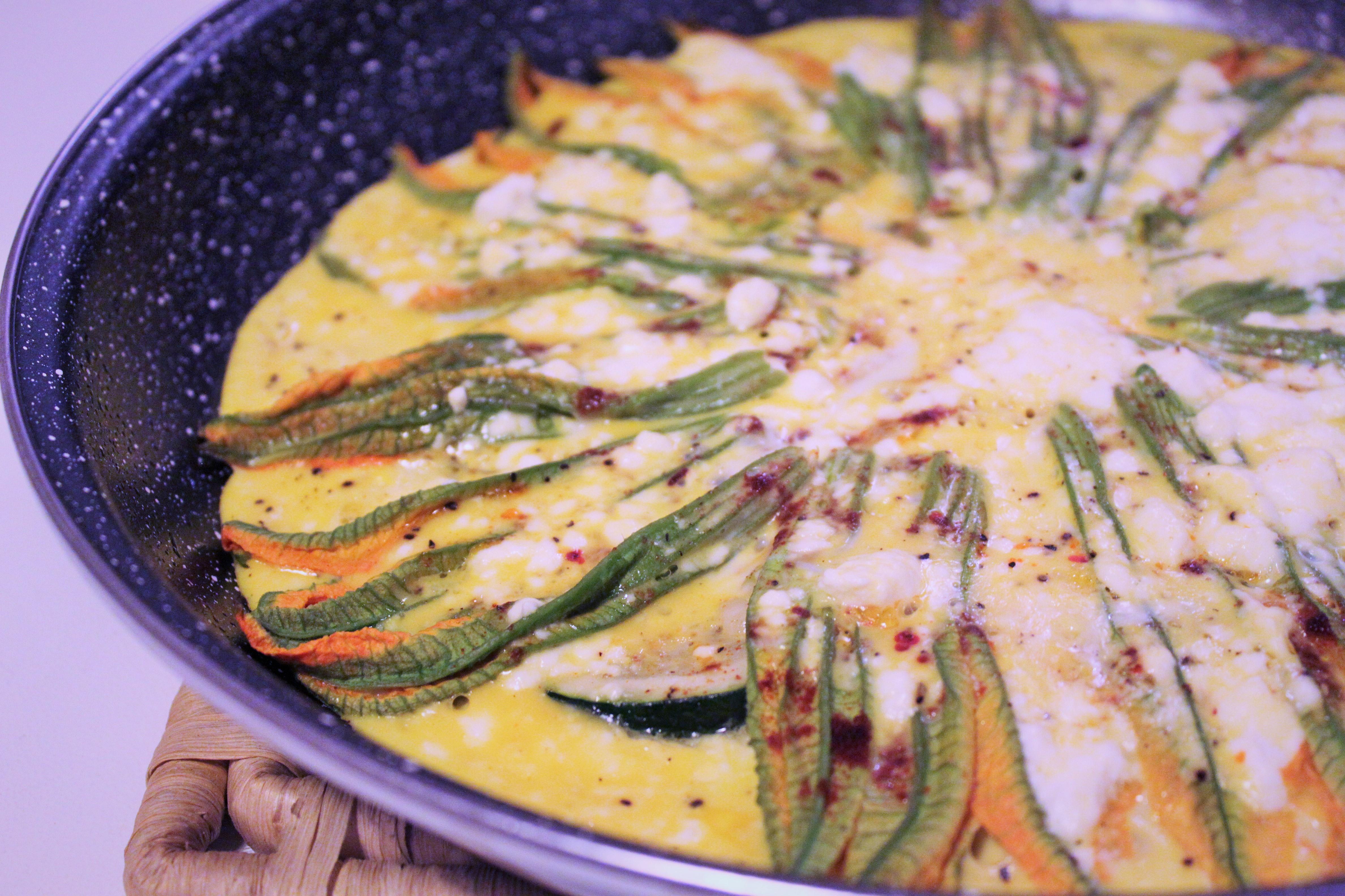 zucchini flower recipe fiori di zucca