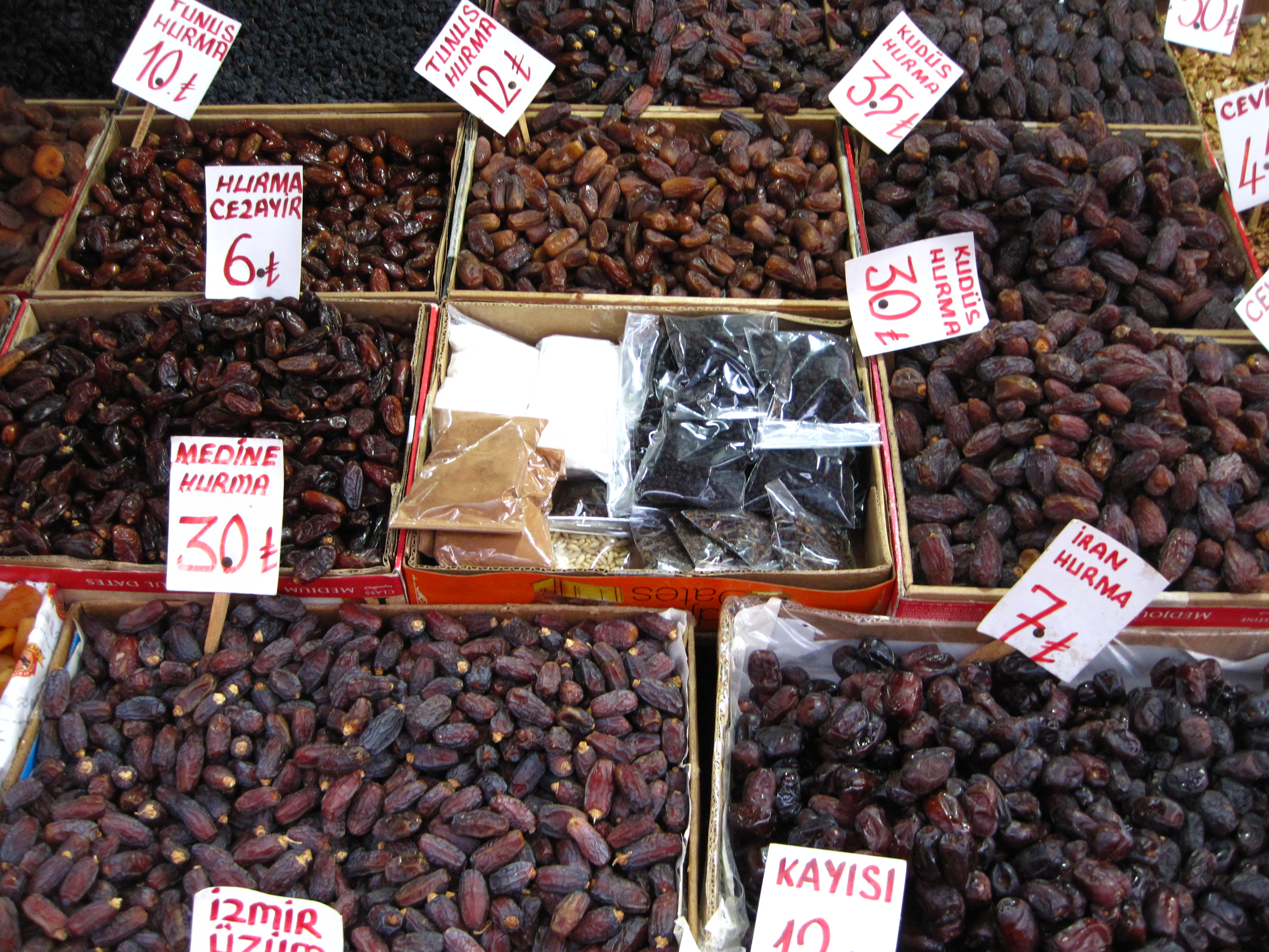 Dates in Istanbul