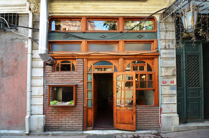 Tarihi Karakoy Balikcisi Istanbul