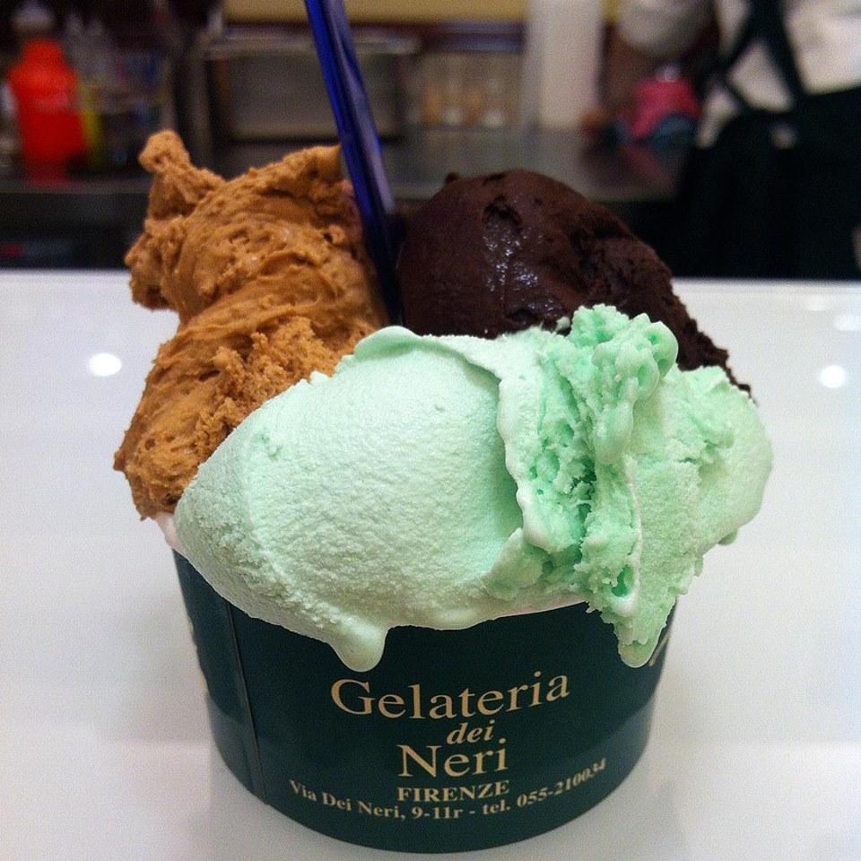 gelateria dei nero gelato florence