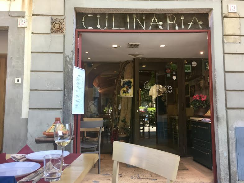 culinaria bistro florence outside