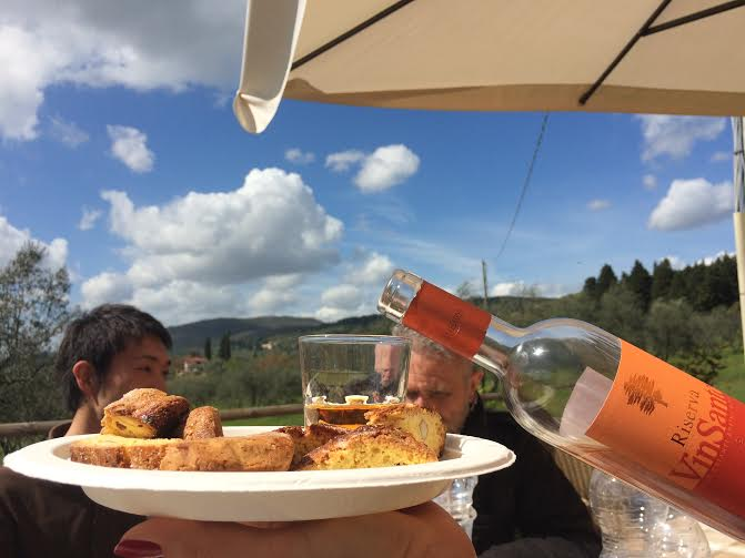 vin santo cantuccini vespa tour we like tuscany