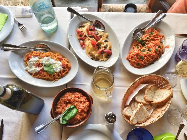 Pasta in Florence tomato pappa al pomodoro