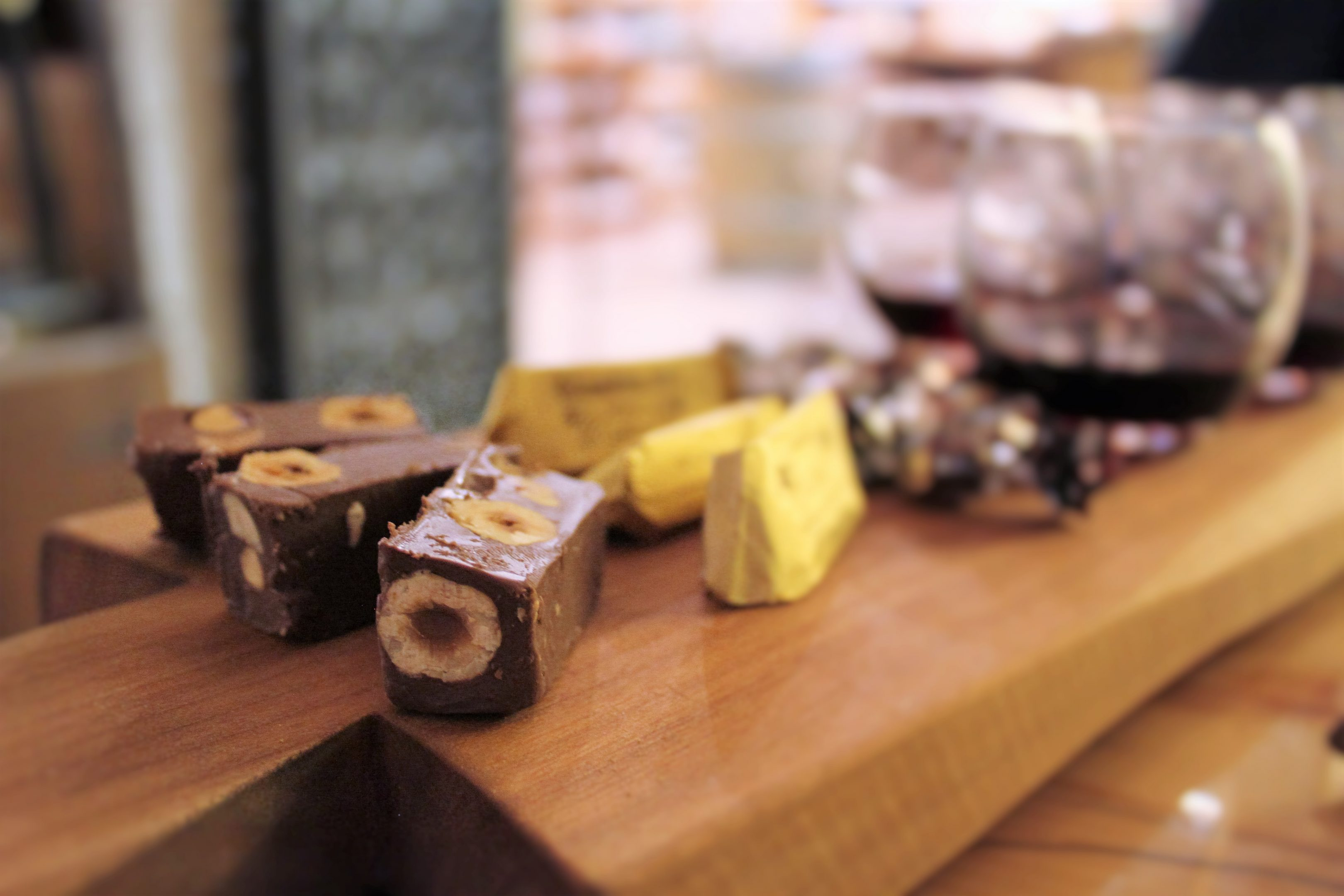 gianduja and chocolate wines