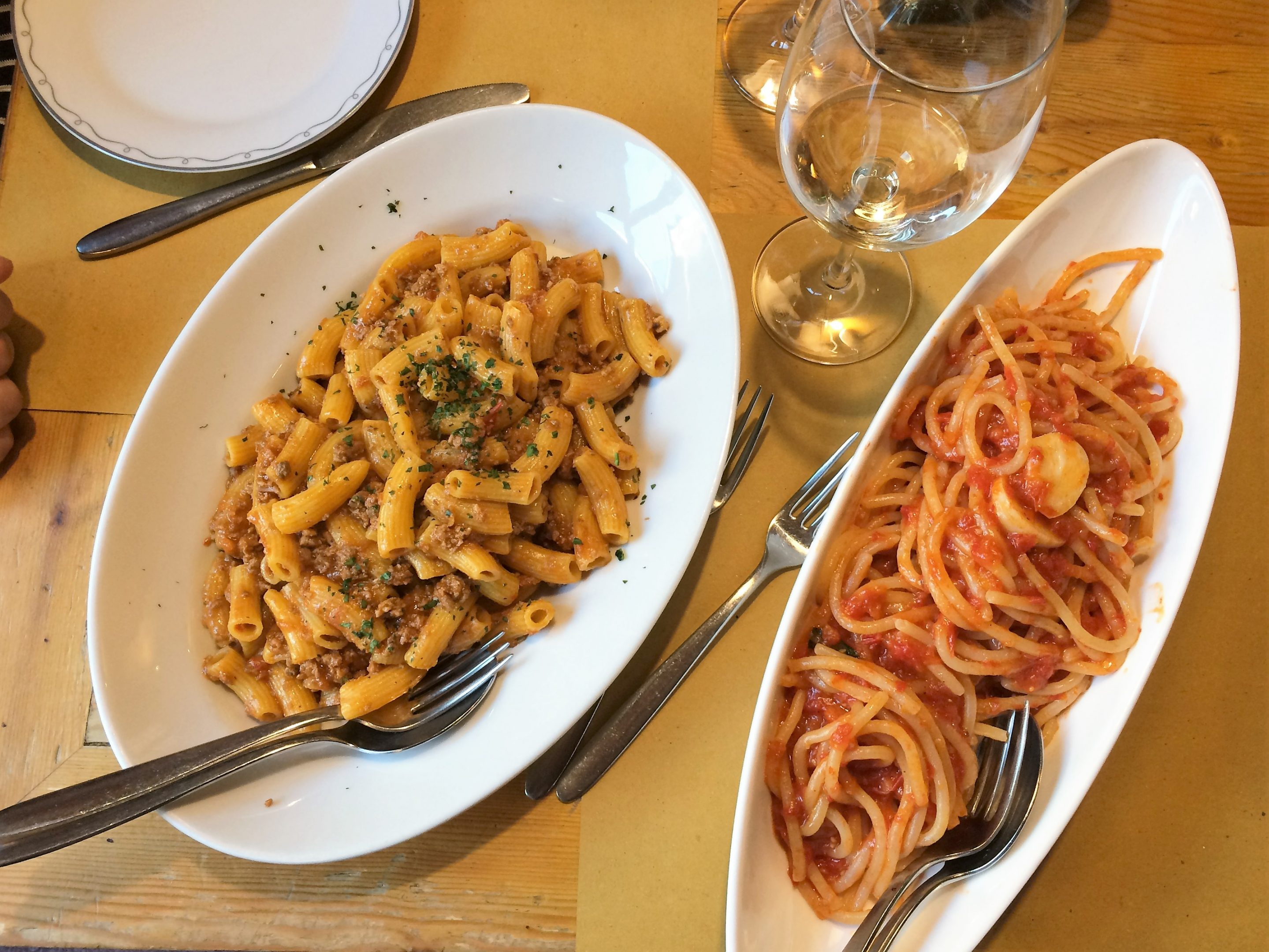 maccheroni and pici in Florence via Curious Appetite