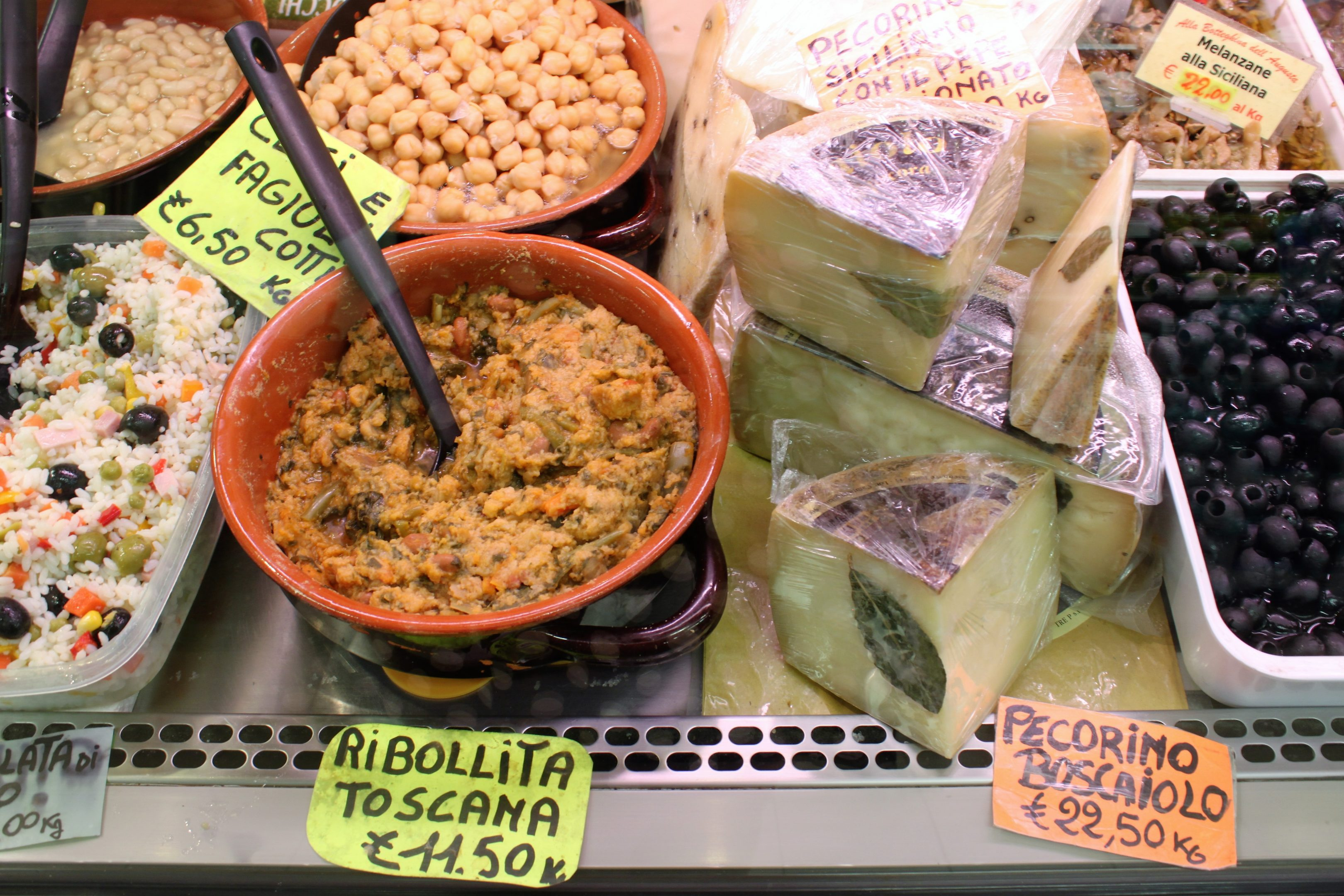ribollita toscana sant'ambrogio market Florence