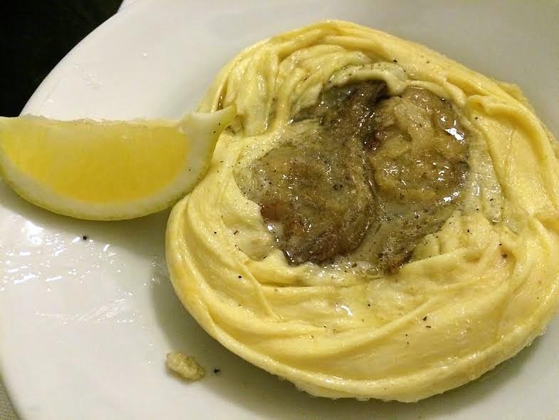 """16eu artichoke egg """"tortino""""- definitely a Florentine classic but ..."""