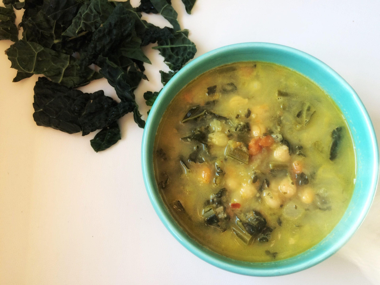 kale winter soup