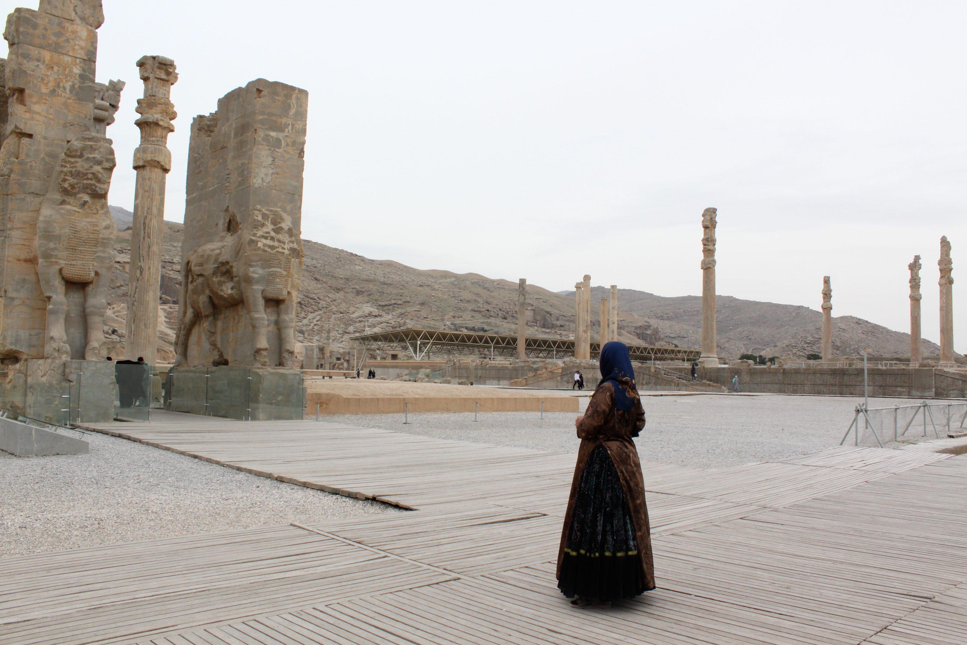 Woman in Persepolis