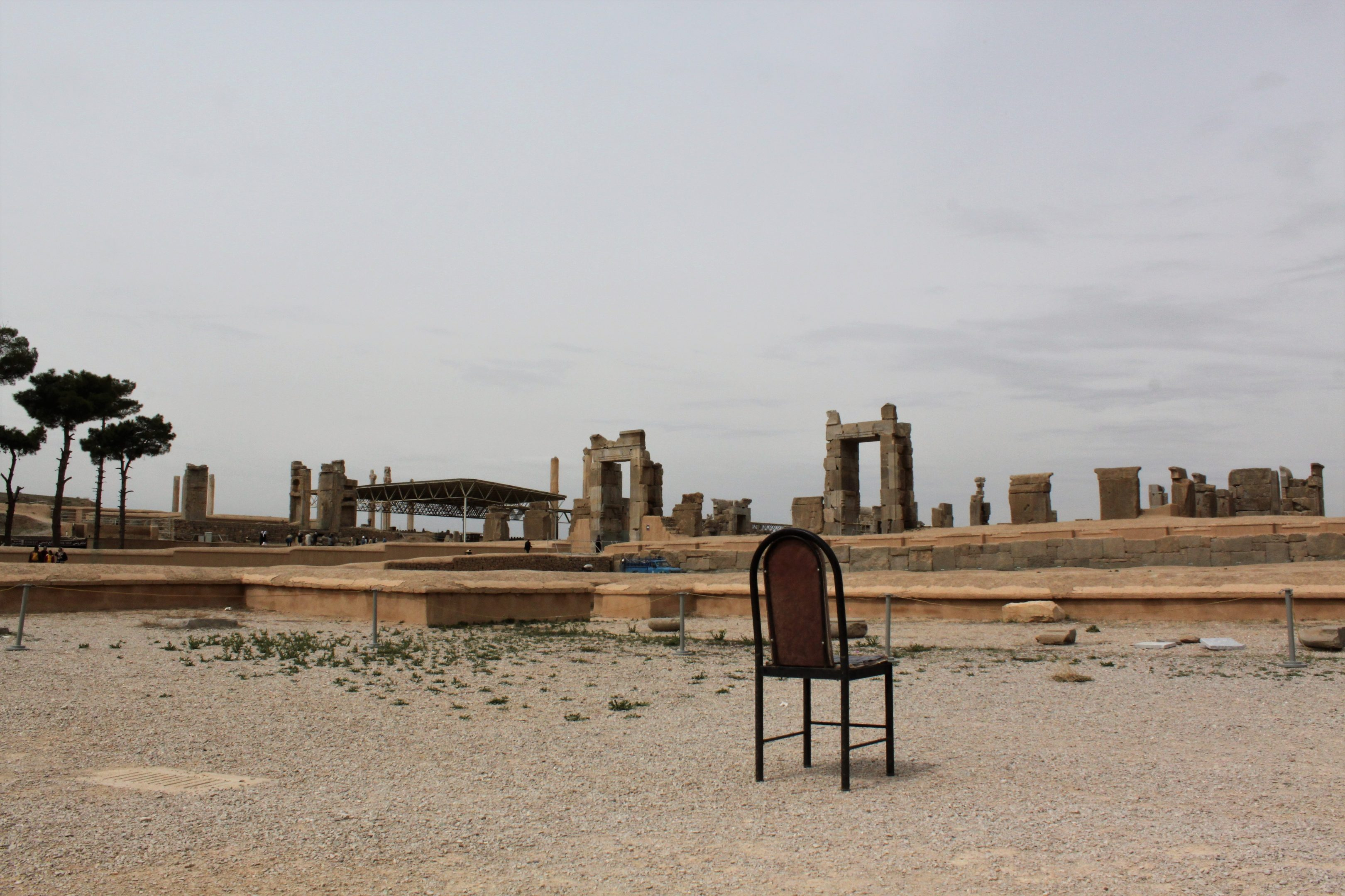 chair in persepolis