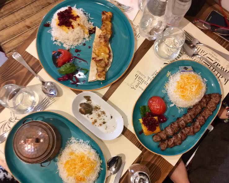 tehran plates florence