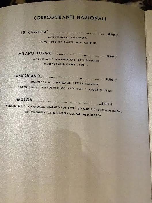 manifattura bar florence menu