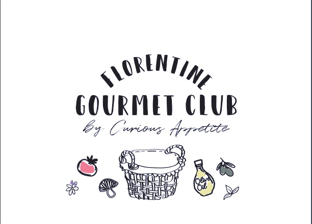 Food Club logo color illustrations