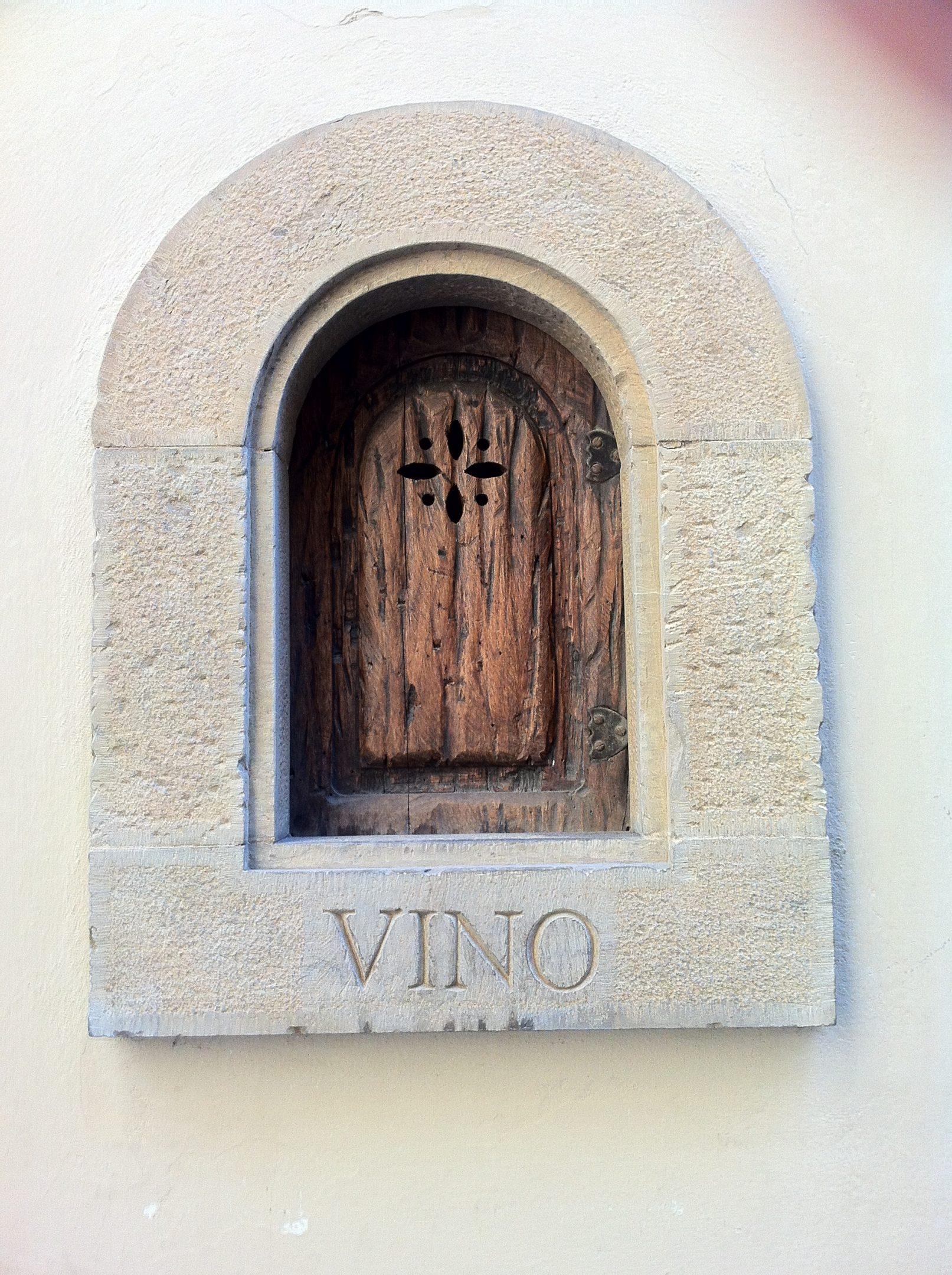 wine door florence